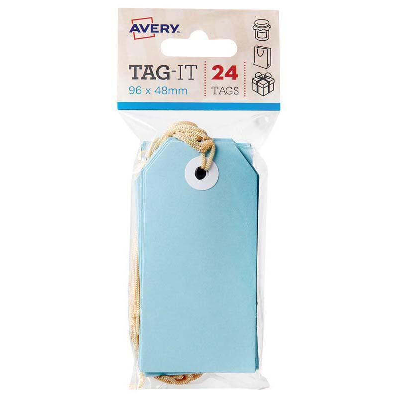 Avery Tag-It Pastel Blue 24 Pack - Office Connect