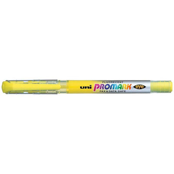 Uni Promark Highlighter 4.0mm Chisel Yellow USP-105 - Office Connect