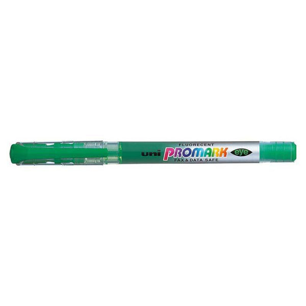 Uni Promark Highlighter 4.0mm Chisel Green USP-105 - Office Connect