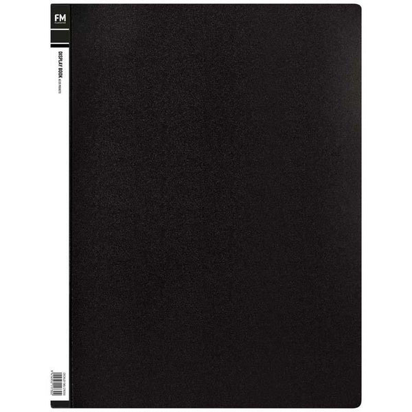 FM Display Book A3 Black 20 Pocket - Office Connect
