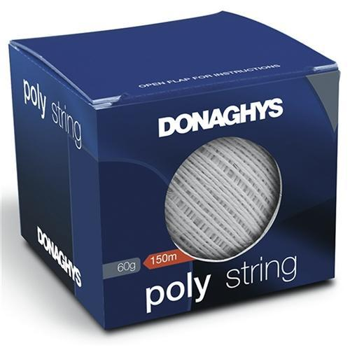 Donaghys Poly String White 60g Box 150m - Office Connect