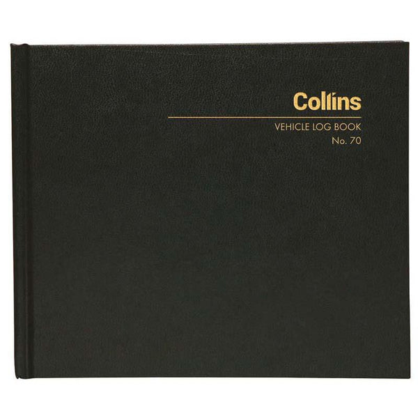 Collins Vehicle Log Book No.70 65 Leaf 136x163mm - Office Connect
