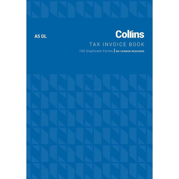 Collins Tax Invoice A5DL No Carbon Required - Office Connect