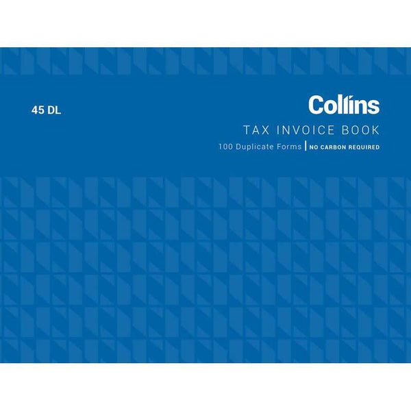 Collins Tax Invoice 45DL No Carbon Required - Office Connect