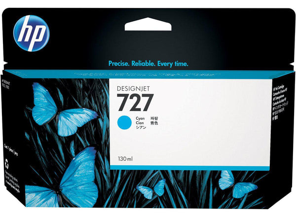 HP 727 130-ml Cyan Ink Cartridge - Office Connect