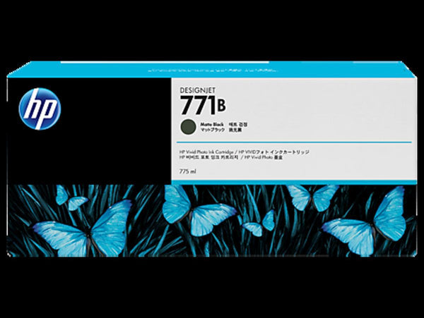 HP 771B 775ml Matte Black Ink Cartridge - Office Connect