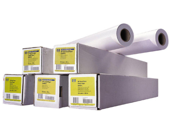 HP Heavyweight Coated Paper 130gm 24in x 100ft - Office Connect