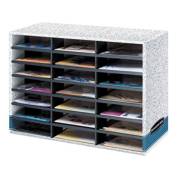 Bankers Box Literature Sorter 21 Compartment - Office Connect