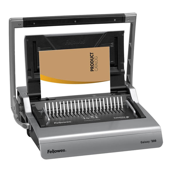 Fellowes Galaxy 500 Plastic Comb Binding Machine - Office Connect