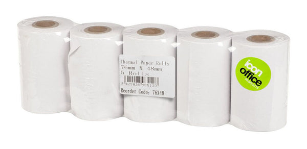 Icon Thermal Roll 76x48mm - Office Connect