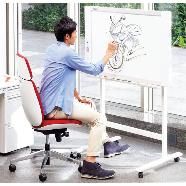 Plus Whiteboard N20J Wall-Mounted - Office Connect