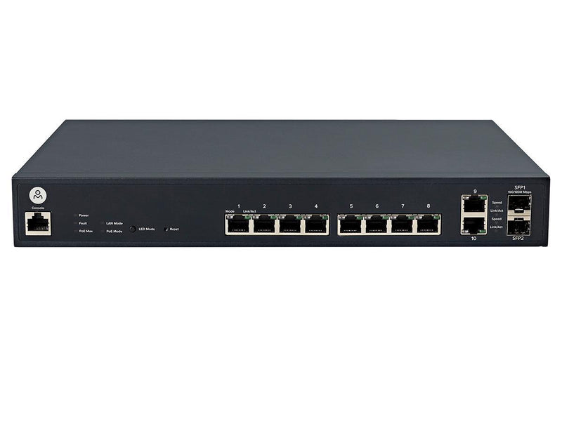 Open Mesh 8 Port Cloud Managed PoE Switch - Office Connect