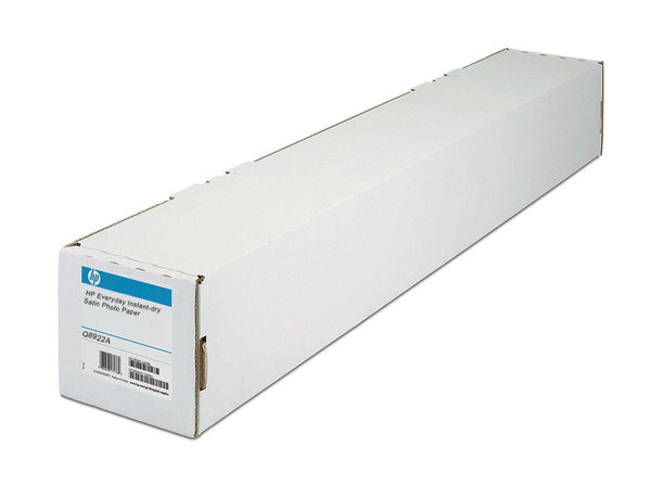 HP Everyday Instant-dry Satin Photo Paper 235gm 42in x 100ft - Office Connect