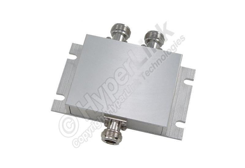 750 MHz to 2700 MHz Wideband 2-Way Signal Splitter - Office Connect