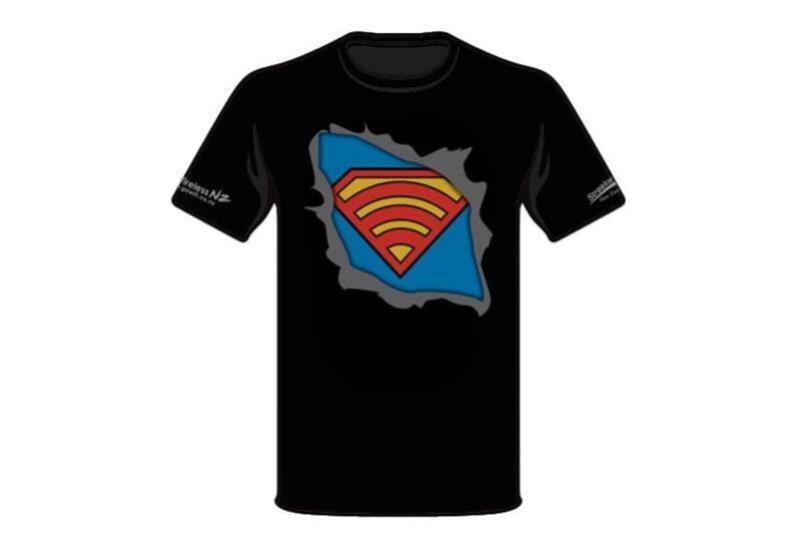 Modern Day Super Hero Superman T-Shirt - Size: SMALL - Office Connect