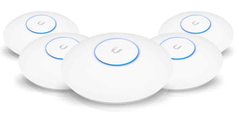 Ubiquiti UniFi AP AC SHD Wave2 Security Access Point 5 Pack - Office Connect