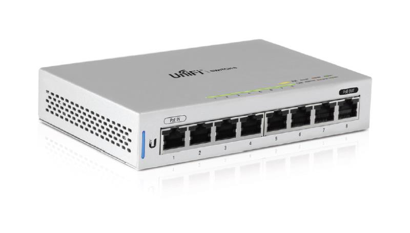 UniFiSwitch 8 Port Gigabit Managed Switch - Office Connect