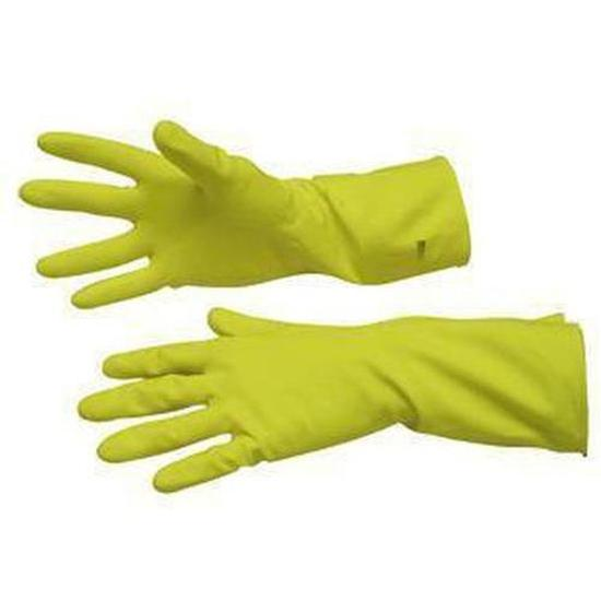 Yellow Silverlined Household Gloves