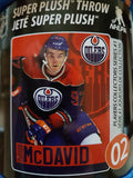 Connor McDavid Player Micro Throw Blanket