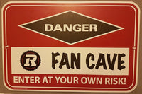 Ottawa RedBlacks Fan Cave Sign - HobbyStarz.com
