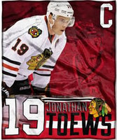 Jonathan Toews Player Micro Throw Blanket
