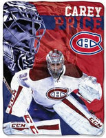 Carey Price Player Micro Throw Blanket