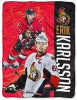 Erik Karlsson Player Micro Throw Blanket