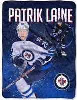 Patrik Laine Player Micro Throw Blanket