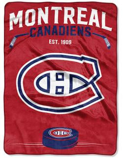 Montreal Canadiens Plush Blanket