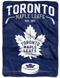 "Toronto Maple Leafs 60"" x 80"" Plush Blanket"