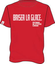Load image into Gallery viewer, 'Briser la glace' Tee (Red) | T-shirt « Briser la glace » (Rouge)