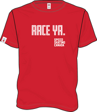 Load image into Gallery viewer, 'Race Ya!' Tee (Red) | T-shirt « Race Ya! » (Rouge)