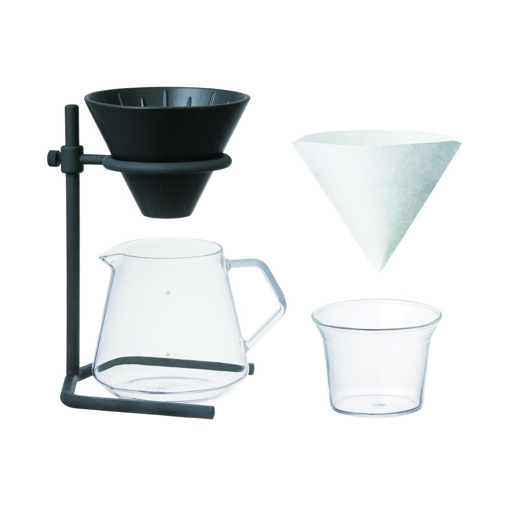 SCS-S04 brewer stand set 4cups