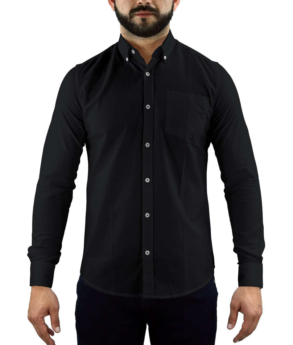 CAMISA MANGA LARGA - Johnny Cotton