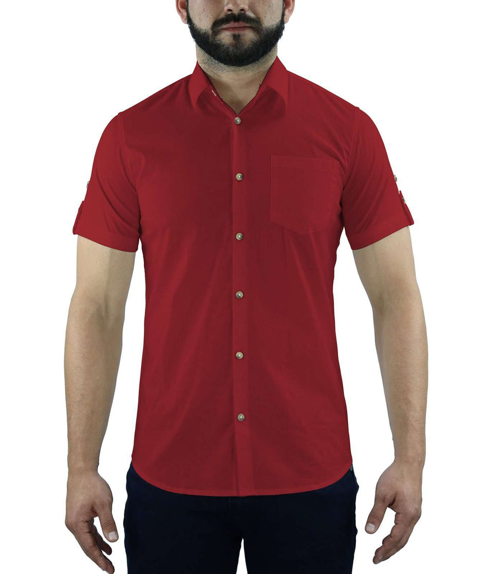 CAMISA OXFORD MANGA CORTA - Johnny Cotton