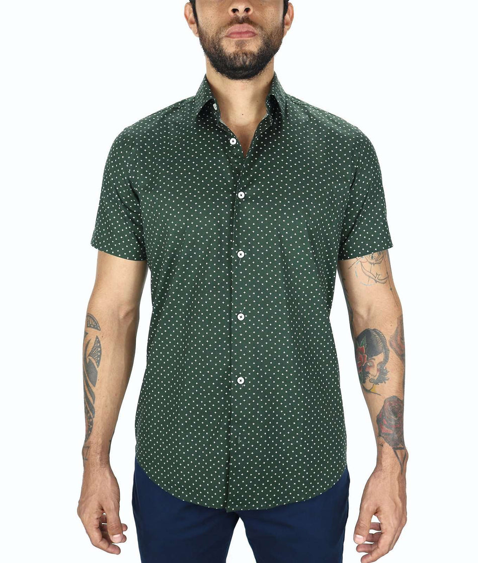 CAMISA MANGA CORTA - Johnny Cotton