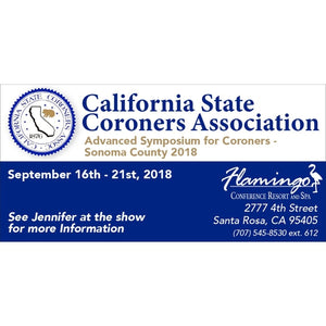 California State Coroners Association - Advanced Symposium for Coroners - 2018
