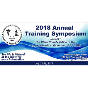 International Association of Coroners & Medical Examiners - 2018 Annual Training Symposium