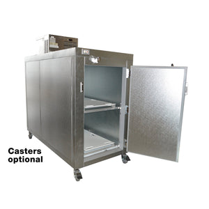 "Two Body Refrigerator - 24"" or 30"" in. doors-Refrigeration-Mortech Manufacturing Company Inc. Quality Stainless Steel Autopsy, Morgue, Funeral Home, Necropsy, Veterinary / Anatomy, Dissection Equipment and Accessories"