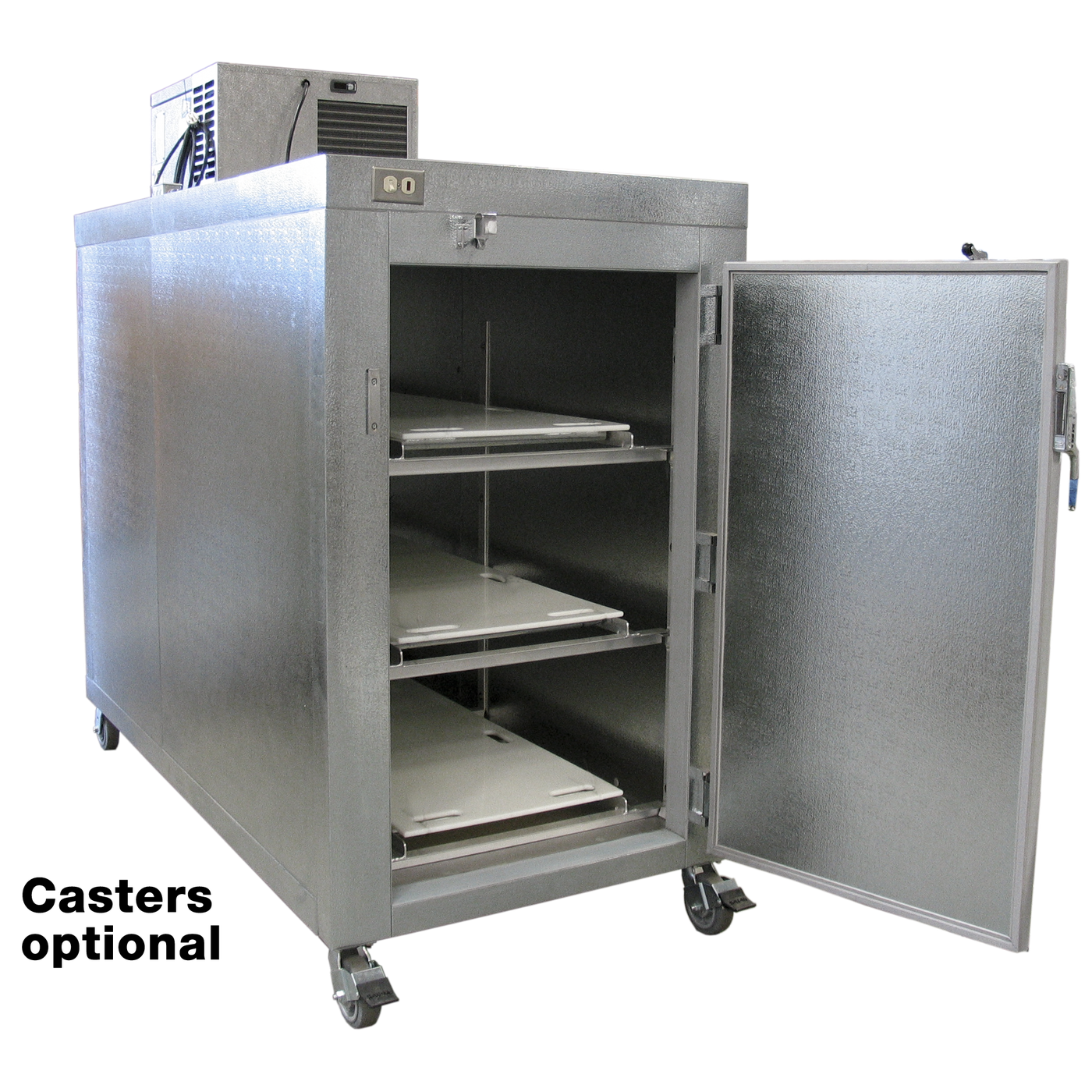 "Three Body Refrigerator - 24"" or 30"" in. doors-Refrigeration-Mortech Manufacturing Company Inc. Quality Stainless Steel Autopsy, Morgue, Funeral Home, Necropsy, Veterinary / Anatomy, Dissection Equipment and Accessories"