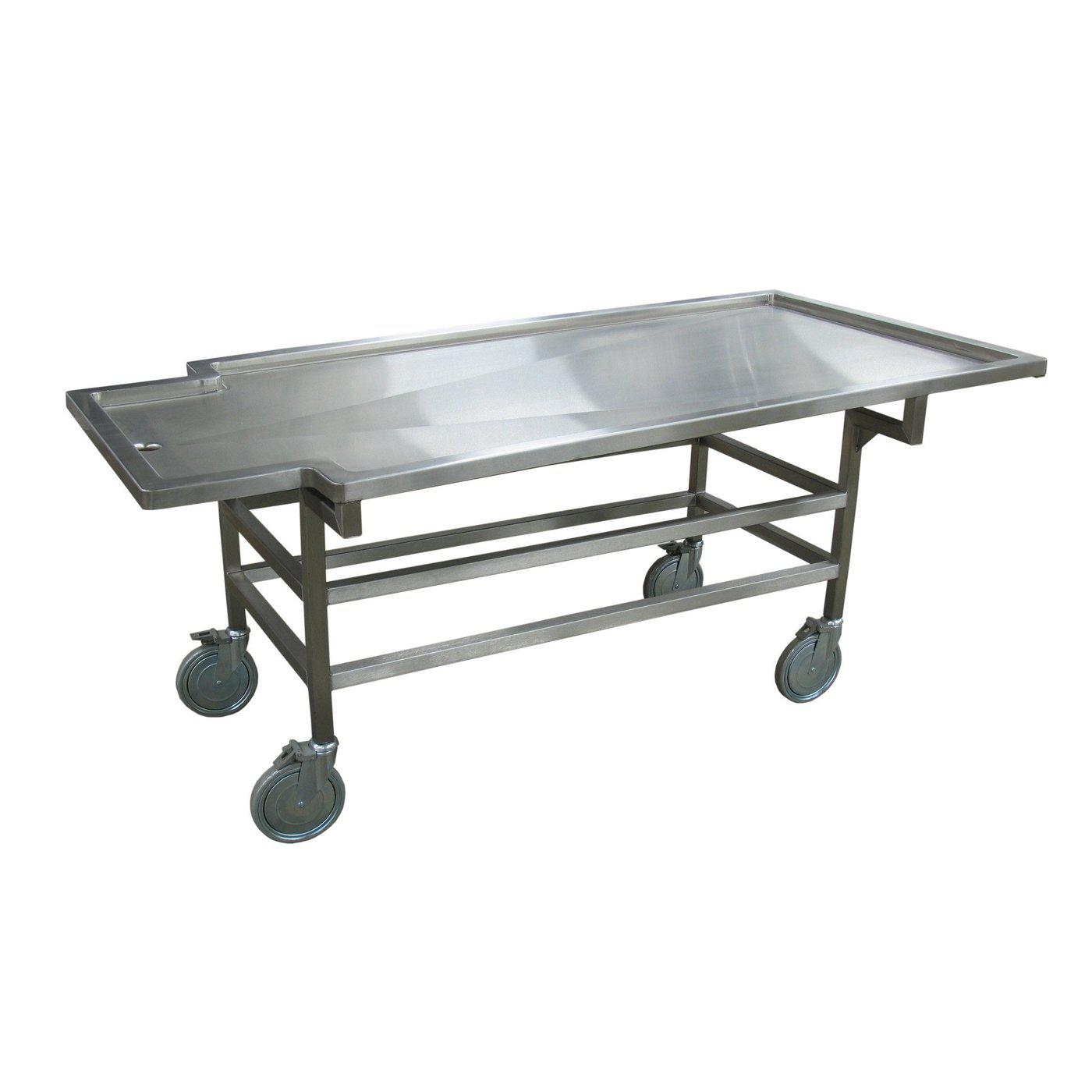 Bariatric Carrier Chassis-Body Transporter-Mortech Manufacturing Company Inc. Quality Stainless Steel Autopsy, Morgue, Funeral Home, Necropsy, Veterinary / Anatomy, Dissection Equipment and Accessories
