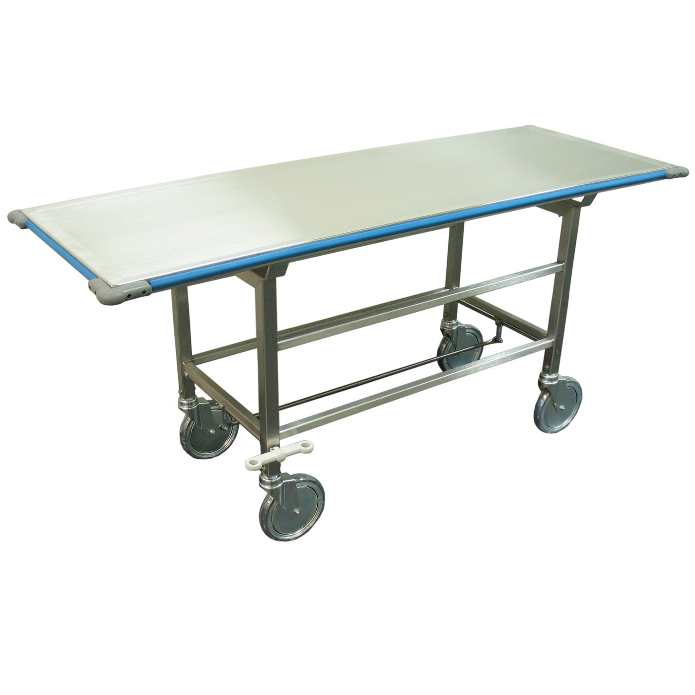 Stretcher/Cadaver Carrier-Body Transporter-Mortech Manufacturing Company Inc. Quality Stainless Steel Autopsy, Morgue, Funeral Home, Necropsy, Veterinary / Anatomy, Dissection Equipment and Accessories