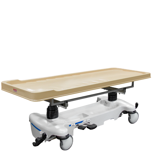 Standard Autopsy Carrier with Molded Plastic Carrier Chassis Trays