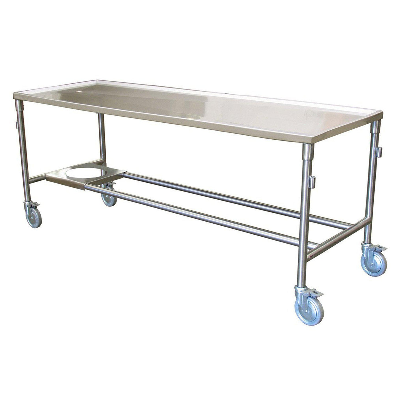 Standard Dissection Platform-Anatomy Dissection Tables-Mortech Manufacturing Company Inc. Quality Stainless Steel Autopsy, Morgue, Funeral Home, Necropsy, Veterinary / Anatomy, Dissection Equipment and Accessories