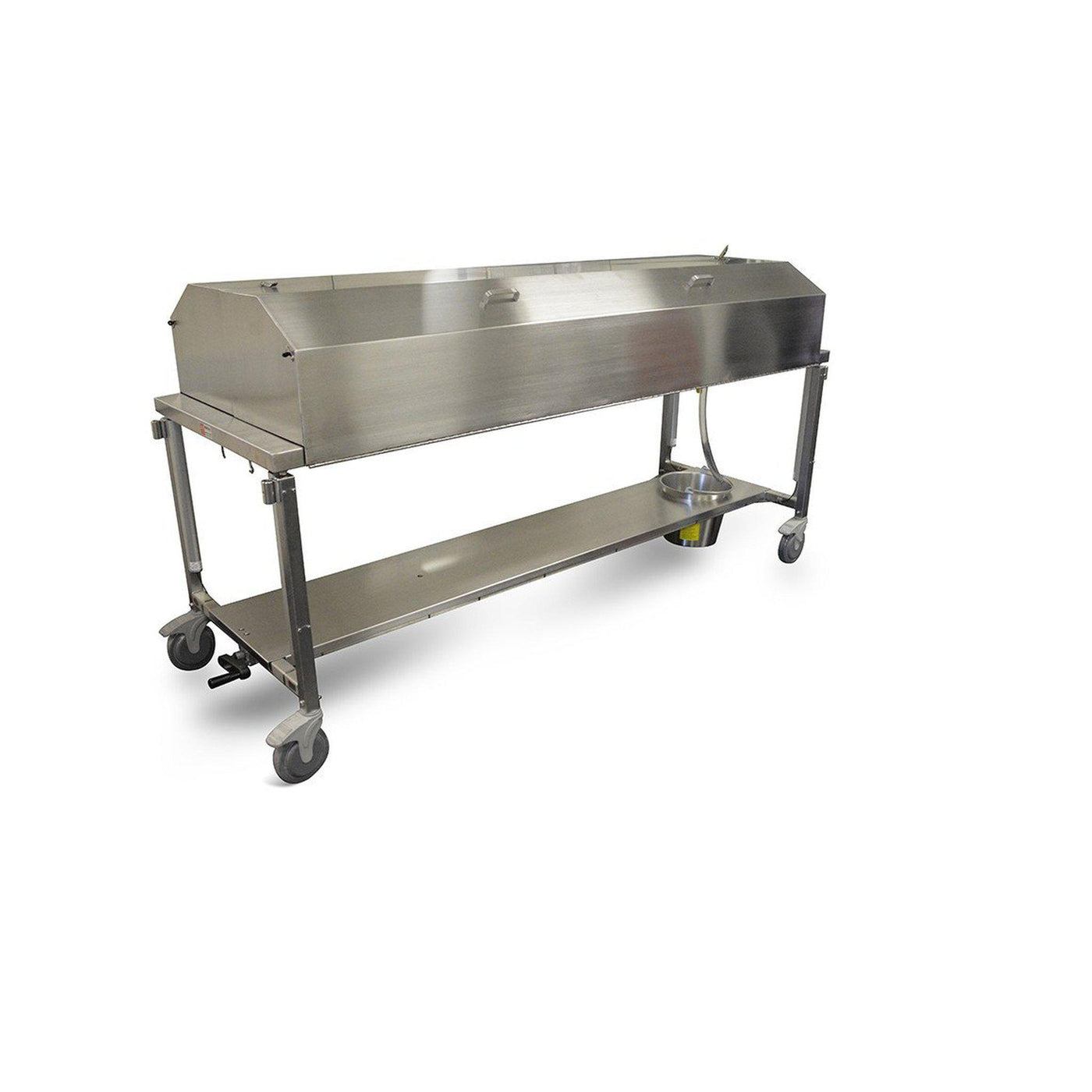 Dissection Table with Hood-Anatomy Dissection Tables-Mortech Manufacturing Company Inc. Quality Stainless Steel Autopsy, Morgue, Funeral Home, Necropsy, Veterinary / Anatomy, Dissection Equipment and Accessories