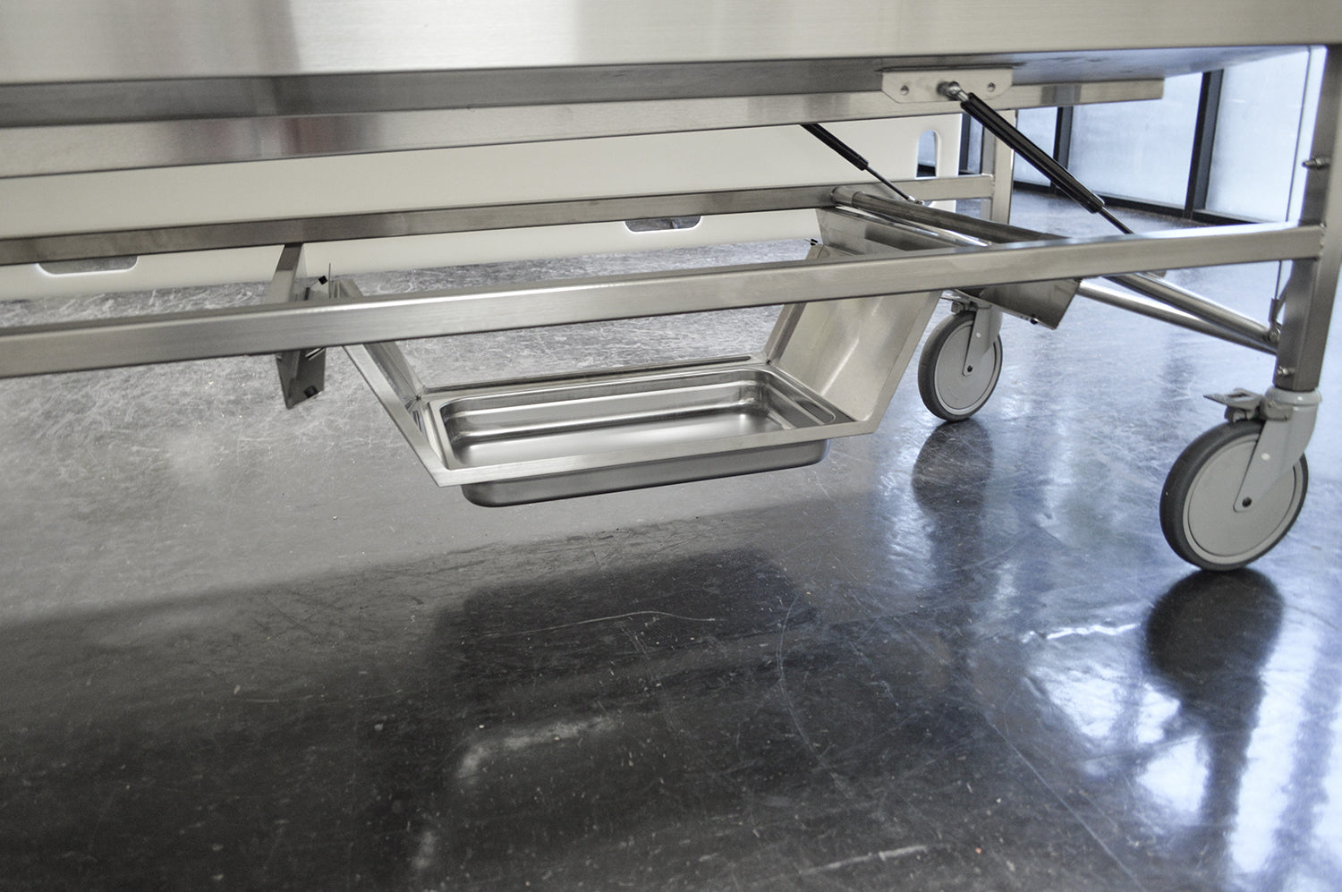 Foot Elevated Immersion Dissection Table