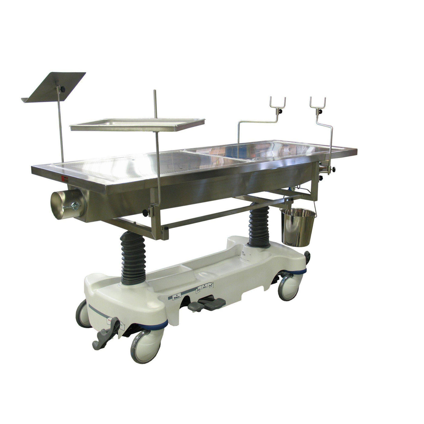Elevated Dissection Table with Exhaust Chamber-Anatomy Dissection Tables-Mortech Manufacturing Company Inc. Quality Stainless Steel Autopsy, Morgue, Funeral Home, Necropsy, Veterinary / Anatomy, Dissection Equipment and Accessories
