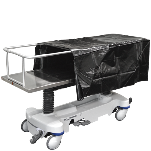 Hydraulic Covered Cadaver Carrier