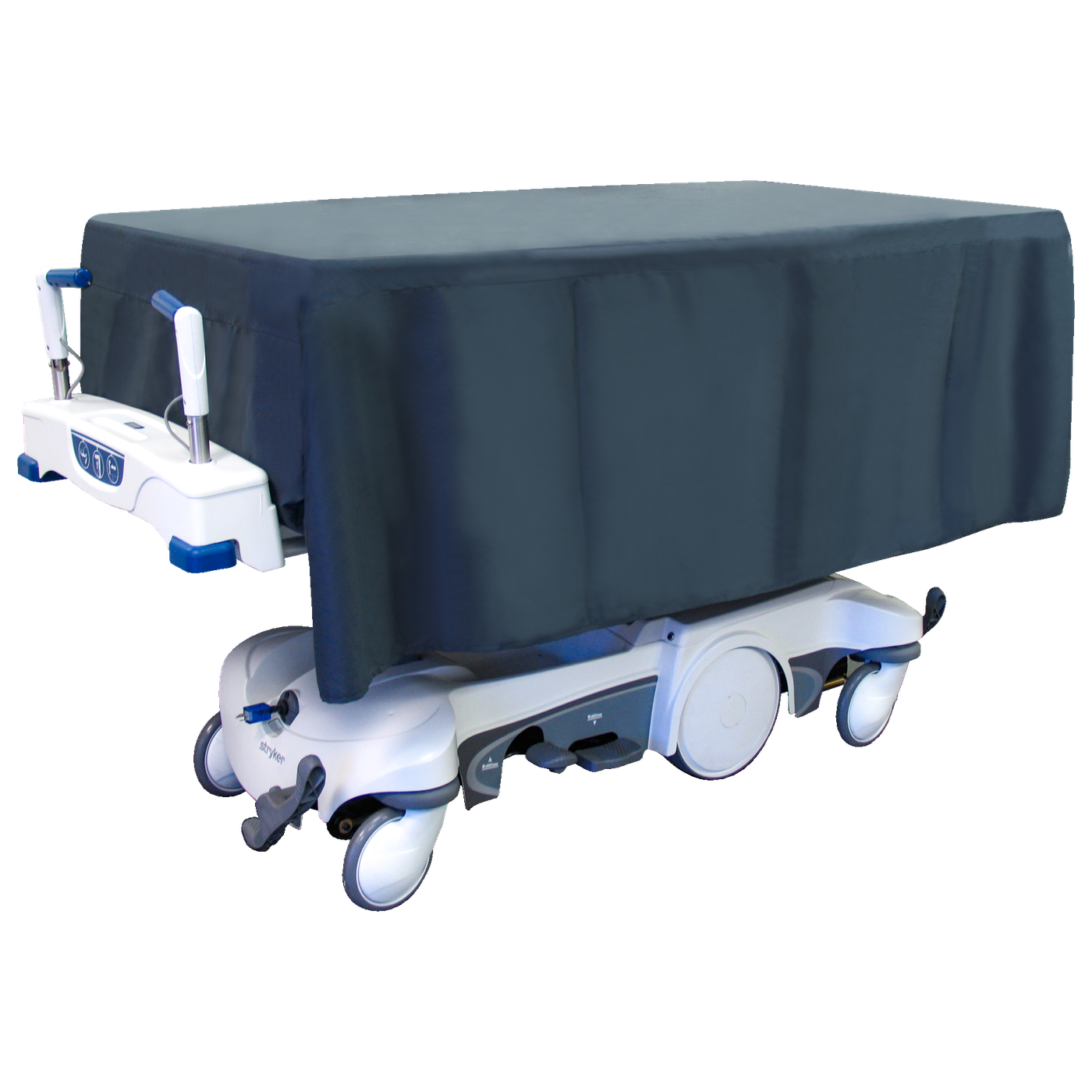 Hydraulic Self Propelled Covered Cadaver Carrier-Body Transporter-Mortech Manufacturing Company Inc. Quality Stainless Steel Autopsy, Morgue, Funeral Home, Necropsy, Veterinary / Anatomy, Dissection Equipment and Accessories