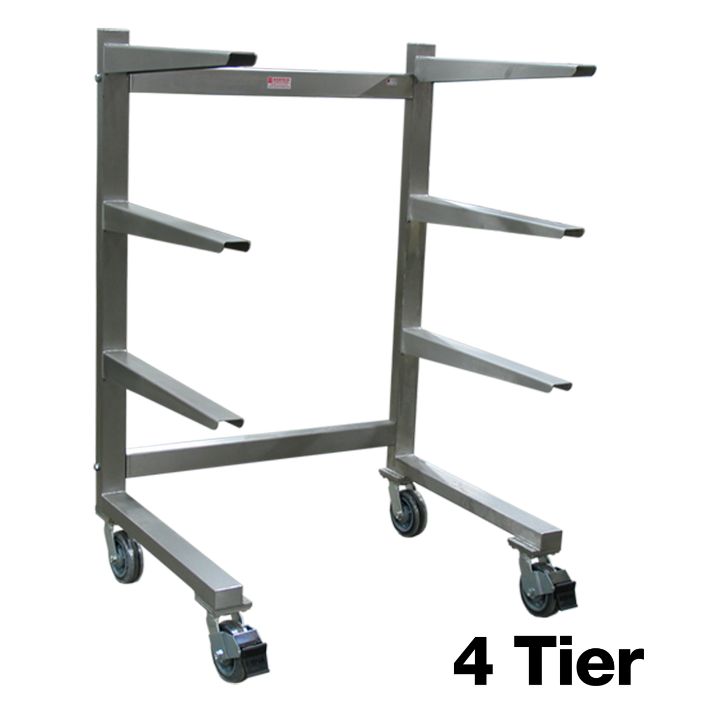 Cantilever Storage System with Casters-Cadaver Handling & Storage Systems-Mortech Manufacturing Company Inc. Quality Stainless Steel Autopsy, Morgue, Funeral Home, Necropsy, Veterinary / Anatomy, Dissection Equipment and Accessories